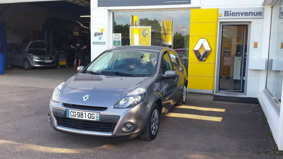 Vente renault clio iii for Garage ad chateau renault